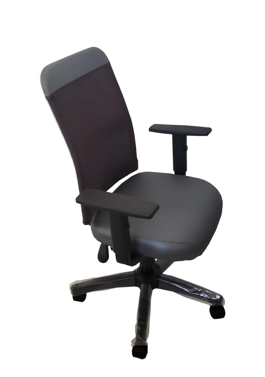 Cadeira Executiva Tela Ergonômica c Back system
